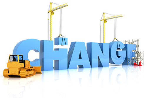 integrated management system, image of graphic related to management of change